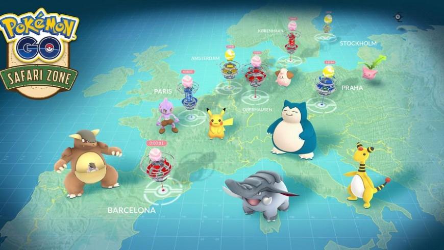 《Pokemon GO》Safari Zone活動限定怪開放雙北全境可抓